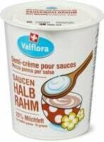 Valflora demicrème pour sauces 180ml