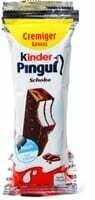 Kinder Pingui Chocolat avec du lait 4 x 30g