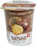 Yogourt de saison Marrons 200g