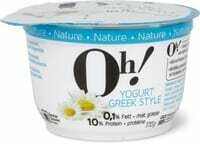 Oh! Yogurt Greek style Nature 170g