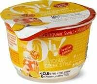 Oh! Yogurt Greek miel/Gingembre 170g