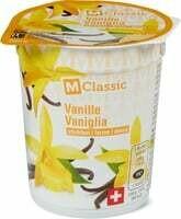 M-Classic Yogourt vanille fermé 200g