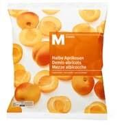 M-Classic Abricots moitiés/non sucrées 750g