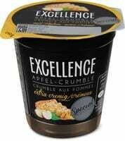 Excellence Yogourt Crumble aux pommes 150g