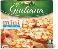 Casa Giuliana mini Pizza mozzarella 270g