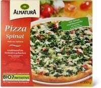 Alnatura Pizza aux épinards 350g