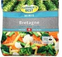 Farmer's Best Légumes Bretagne 240g