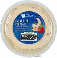 M-Classic MSC Cocktail crevettes 200g