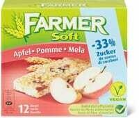 Farmer Soft Pomme -33% de sucre 240g