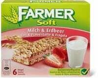 Farmer Soft Lait Fraise 174g