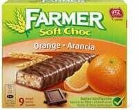 Farmer Soft choc Orange 290g