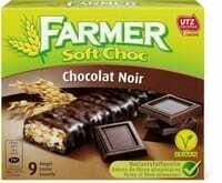 Farmer Soft choc Chocolat noir 252g
