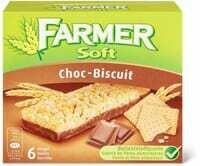 Farmer Soft Choc-biscuit 156g