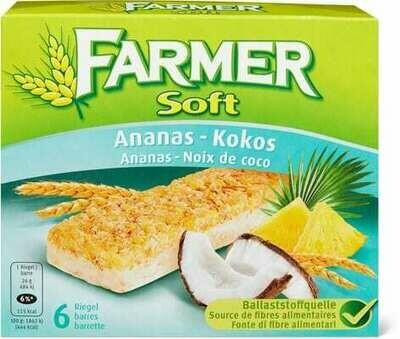 Farmer Soft Ananas-noix de coco 156g