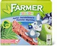 Bio Farmer junior Pomme-myrtille 138g