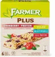 Farmer Plus Cranberry-protéine 150g