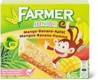 Bio Farmer junior Mangue-banane-pomme 138g