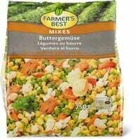 Farmer's Best Légumes au beurre 750g