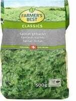 Farmer's Best Epinards hachés 500g