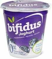 Bifidus yogourt 0% Myrtille 150g
