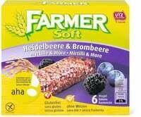 Aha! Farmer Soft Myrtille/mûre 150g