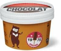 Glace l'ours crème Glacée chocolat 100ml