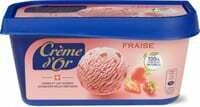 Crème d'or fraise 1000ml