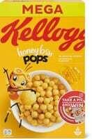 Kellogg's Honey Bsss Pops 600g