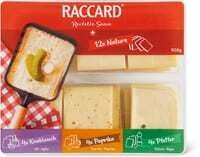 Raccard assorti 900g