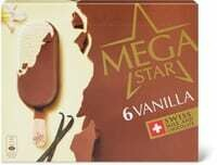 MegaStar Vanilla 6 x 120ml
