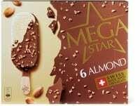 MegaStar Almond 6 x 120ml