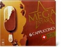 MegaStar Cappuccino 6 x 120ml