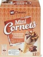 M-Classic mini Cornet chocolat 12 x 28ml
