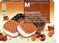 M-Classic sandwich glace 6 x 85ml