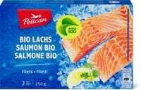 Bio Pelican Filets de saumon 250g