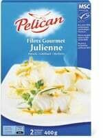 Pelican MSC Filet Gourmet Julienne 400g