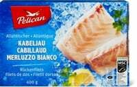 Pelican MSC Filet de cabillaud 400g