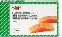 M-Budget Filets de saumon 250g