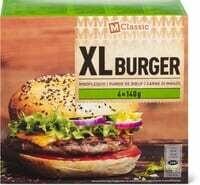 M-Classic XL Burger boeuf 4 x 140g