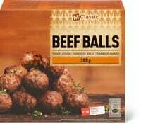 M-Classic Beef balls boeuf 300g