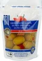 Olives grècques farcies avec jalapeños 150g