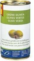 MSC Olives vertes avec pâte d'anchois 150g