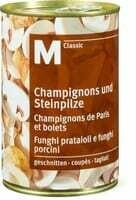 M-Classic champignon de Paris et bolets 225g