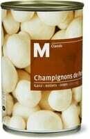 M-Classic Champignon de Paris entiers 230g