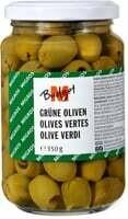M-Budget olives Vertes dénoyautées 170g