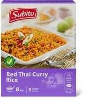 Subito Riz Red Thai Curry 170g
