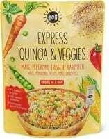 Bio YOU express Quinoa & veggies 250g