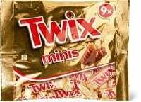 Twix minis 206g