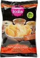 Bio Namaste India Papadum chips 75g