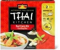 Thai Kitchen Red curry kit 600g